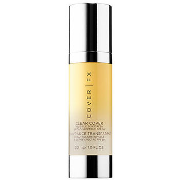 Clear Cover Invisible Sunscreen Broad Spectrum SPF 30 - COVER FX | Sephora