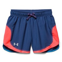 Girl's Under Armour 'Stunner' HeatGear Shorts