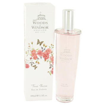 True Rose by Woods of Windsor Eau De Toilette Spray 3.3 oz