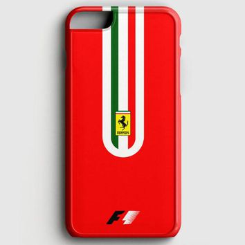 Fernando Alonso F1 Ferrari Scuderia Team iPhone 6 Plus/6S Plus Case