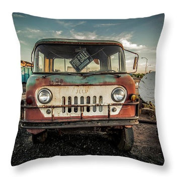 It's A Jeep Thing - Throw Pillow