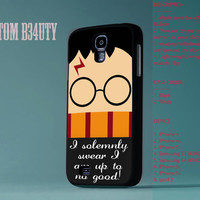 Harry Potter Quote  For Samsung Galaxy S3 and Samsung Galaxy S4 Hard Plastic And Rubber Cover