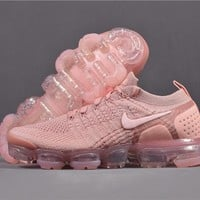Nike Air VaporMax 2.0 Air cushion running shoes/pink