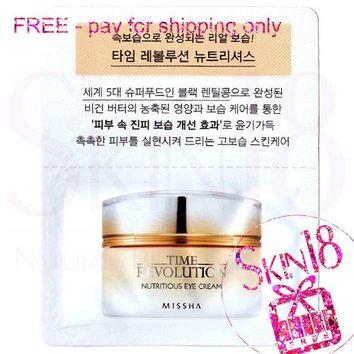 Freebies - Missha Time Revolution Nutritious Eye Cream  *exp.date 04/20