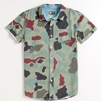 Modern Amusement Jungle Short Sleeve Woven Shirt at PacSun.com