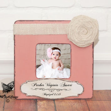 Christening Gift Girl Baptism Gift GIRL Baptism Gift from Godparent, Baptism Gifts For Godchild, Baptism Gifts For Godparents, Picture Frame