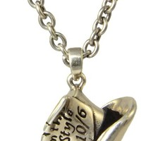 Disney Couture Alice in Wonderland Mad Hatter Necklace