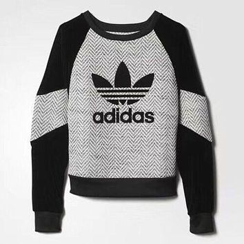Adidas Vintage Run Baggy Top Sweater Sweatshirt