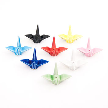 Origami Crane Incense Burner