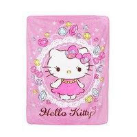 Hello Kitty Big Throw Blanket: Bijou Collection