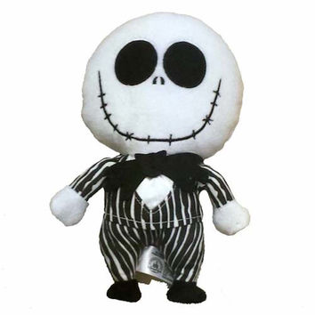"""disney parks nightmare before christmas jack 9"""" plush new with tags"""