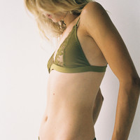 Effie Softcup Bra Chartreuse - Lonely Label