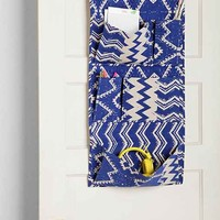 Magical Thinking Geo Over-The-Door Pocket Organizer- Blue One