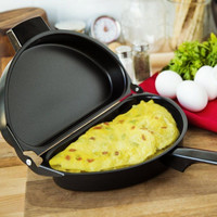 Nonstick Omelet Egg Pan Poacher Cookware Stove-top Family Kitchen Tool Use