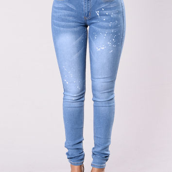 Bootylicious Jeans - Medium Wash