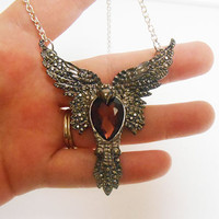 Fairytale Fantasy Final Fantasy Phoenix Pendant Necklace