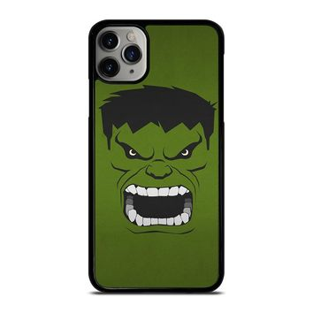 HULK MARVEL COMICS MINIMALISTIC iPhone Case Cover