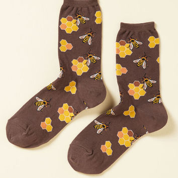 What's the Buzz? Socks in Brown