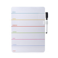 Kikkerland Design Inc » Products » Daily Dry Erase Board