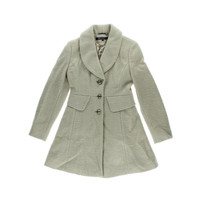Kenneth Cole New York Womens Wool Blend Long Sleeves Pea Coat