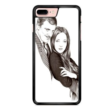 Morticia And Gomez Addams Addams Family Inspired iPhone 7 Plus Case