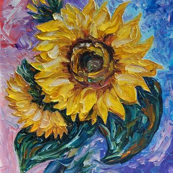 'That Sunflower From The Sunflower State' by ArtOLena