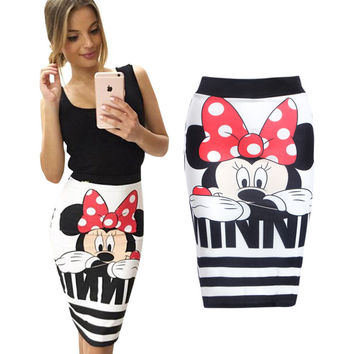 mickey minnie mouse women cartoon character clothes female miki clothing T518
