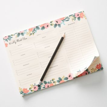 Farm Fresh Weekly Meal Planning Pad