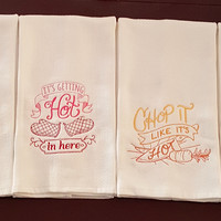 Spice It Up Dish Towels II