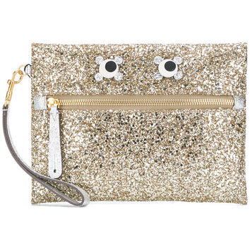 Anya Hindmarch Circulus Eyes Pouch - Farfetch