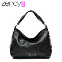 free shipping genuine leather fashion women shoulder bag