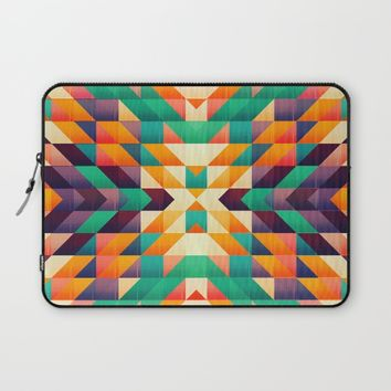 Indian summer Laptop Sleeve by Jeanette Rietz