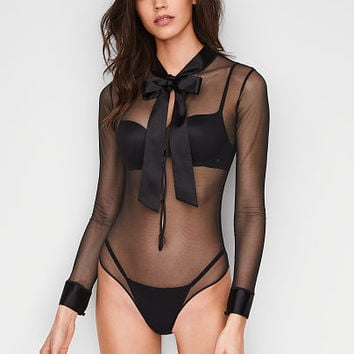 Bow & Button Teddy - Victoria's Secret