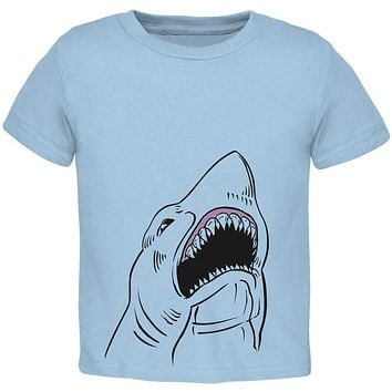 Peeking Shark Toddler T Shirt