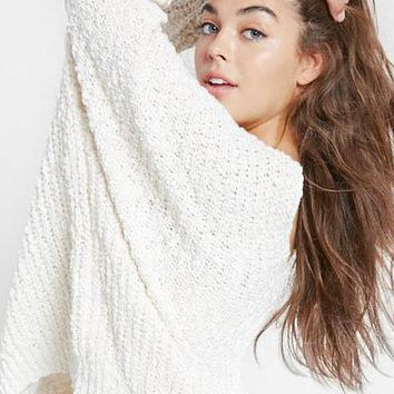 Hang With Me Sweater - Ivory