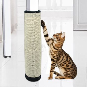Cat Scratch Board Toy Sisal Hemp Cat Kitten Scratching Post Pad For Cats Protecting Furniture Grind Claws Cat Scratcher Toy Mat