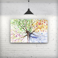 WaterColor Vivid Tree - Fine-Art Wall Canvas Prints