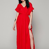 Free People Womens Mediterranean Maxi -