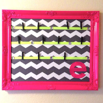 Cheer Bow Board Framed Custom Monogram