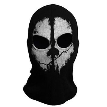 Mounchain Outdoor Multifunctional Magic Fleece Face Mask Tactical Scarf Headwear Neck Face Mask Ghost Scarf For Hunting Cycling