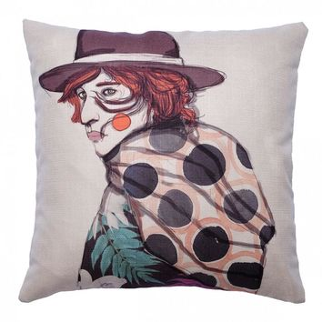 Blood In My Eyes Pillow