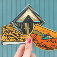 Adventure Sticker Set