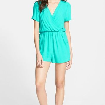 Junior Women's Everly Surplice Romper