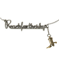 Disney Toy Story Reach For The Sky Necklace