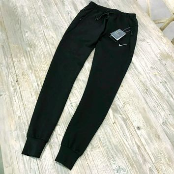 One-nice™ Nike Fashion black long pants Trousers Sweatpants H-A-XYCL