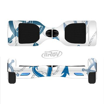 The Nautical Anchor Collage Full-Body Skin Set for the Smart Drifting SuperCharged iiRov HoverBoard