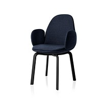 Fritz Hansen Sammen Dining Chair with Arms