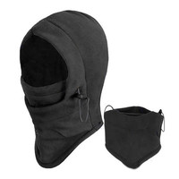 Face Mask Thermal Fleece Balaclava Hood Swat Ski Bike Wind Winter Stopper Out Door Sports