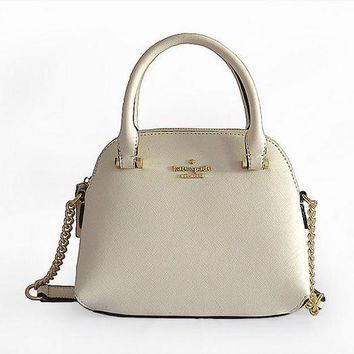 DCCKVQ8 Kate Spade' Women Simple Fashion Mini Metal Chain Single Shoulder Messenger Bag Handbag