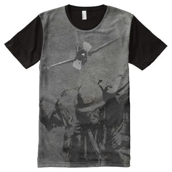 OLD SOLDIERS NEVER DIE All-Over-Print SHIRT